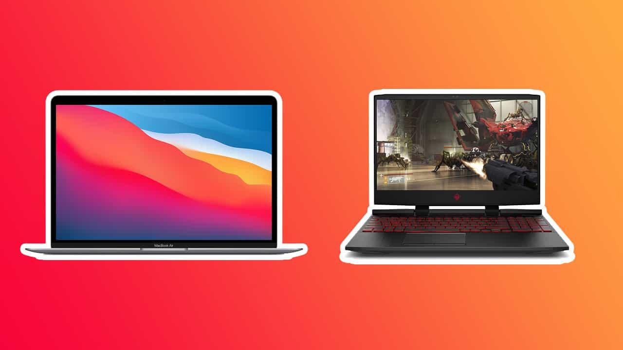 HP Omen 15 vs. MacBook Air M1